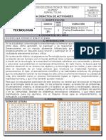 Guia Didactica Tecnologia 1º - p1 - 2014