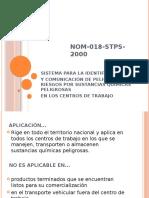 NOM-018-STPS-2000-