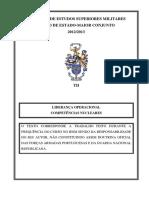 TII Maj Fernandes_Liderança Operacional. Competências Nucleares