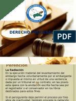 Exposición Derecho Procesal Civil III