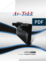 AvTekk 2010_2011 Product Catalog