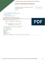 Performing a Multiobjective Optimization Using the Genetic Algorithm - MATLAB & Simulink Example - MathWorks India