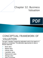 Ch. 32 Valuation of Business