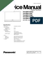 TH-50PV70H.PDF