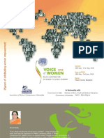 VOW-2008 -International Summit Brochure
