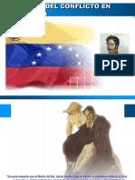 El Origen del conflicto en Venezuela
