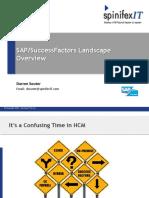 SAP Landscape Discussion-Darren Souter