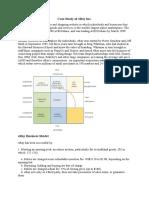 Case Study of EBay Inc
