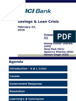 Saving & Loan Crisis_Group 3