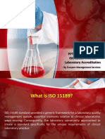 ISO 15189 - Medical Laboratory Accreditation