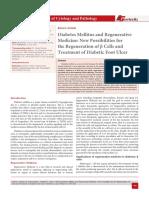 Diabetes Mellitus and Regenerative Medicine