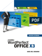 Guia Usuario Corel WordPerfect Office X3