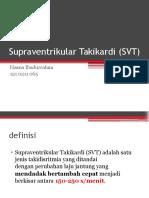 Supraventrikular Takikardi (SVT)