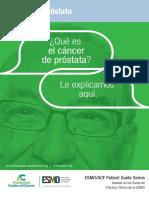 ES Cancer de Prostata Guia Para Pacientes