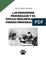 LOS PRINCIPIOS PROCESALES Y EL TITULO PRELIMINAR DEL CODIGO PROCESAL CIVIL