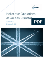 Helicopter Operations at London Stansted