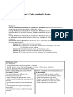 UBD Template Cellular Respiration Photosynthesis - Ubd lesson plan template