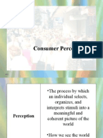 Consumer and Buyer Behavior Chapter 6 (Consumer Perception)