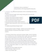 Soal Pemasaran online.doc