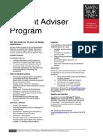 Student Adviser Program