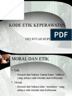 Kode Etik Kep Bu Helwi