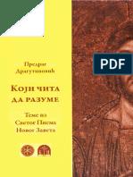 Predrag Dragutinovic - Koji Cita Da Razume