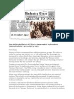 Kashmir Accession