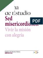 Tema de Estudio 2015-2016 Sed Misericordiosos
