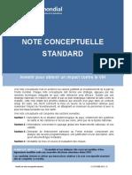 Note conceptuelle standard