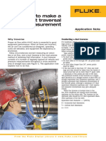 How to Make a Duct Traversal Airflow Measurement