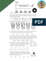 taller de razonamiento matematico 5 primaria