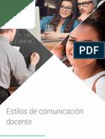 6 Estilos Comunicacion Docente