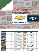 catalogo Chevrolet