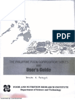 The Philippine FCT 1997 User's Guide