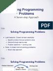 Solving Programming Problems