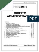 2 Direito Adiministrativo Resumo