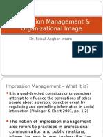 Impression Management Organizational Image