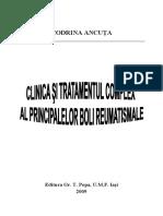 Clinica Si Tratamentul Complex Al Principalelor Boli Reumatismale-C.ancuta