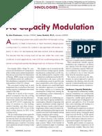 Ac Capacity Modulation
