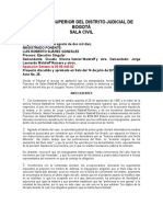Falsedad Documental Titulo Valor