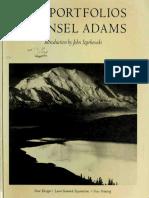 The Portfolios of Ansel Adams (Photo Art eBook)
