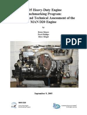 MAN_D2066 ENGINE BENCHMARK | Turbocharger | Piston