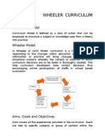 Wheeler curriculum model