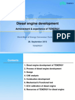 Diesel Engine Development TENERGY