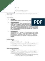 McPherson Video Planning Document