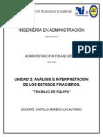 Trabajo en Equipo Unidad 2 Analisis e Interpretacion de Los Estados Financiero2