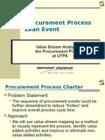 Procurement Process Lean Event