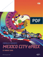 Programa Mexico City Eprix