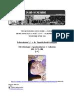 a4_protocole de l'Enquête Bactériologique