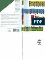 Weisinger - Emotional Intelligence at Work